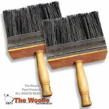 6 inch faux colour wash and other paint technique brush by the woolie
