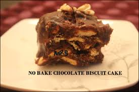 Chocolate Biscuit Cake No Bake Chocolate Biscuit Cake