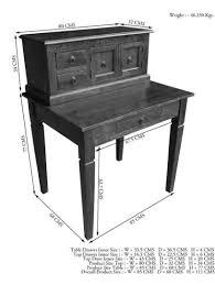 Schreibtisch Kolonial Schreibtisch Oxford Massivmoebel24 Klingel De