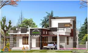 2 floor villa plan design new 2bhk single floor home plan with kerala design and 2017