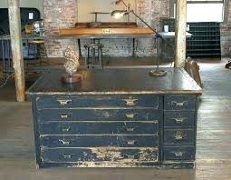 Vintage Oak Filing Cabinet Industrial File Cabinet Skygatenews