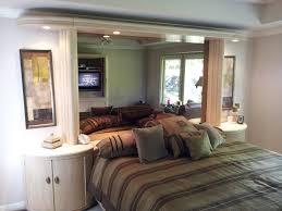 Bedside Lamp Ideas by Square Beige Pattern Woven Rug White Flower Pattern Mirror Wooden