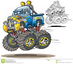 monster truck videos free download flamed monster truck stock images image 30346014