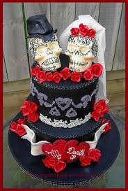 skull wedding cakes 19 best skull wedding cakes images on skull wedding