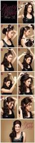 Easy Hairstyle Tutorials For Long Hair by 15 Stylish Half Up Half Down Tutorials Hair Medium Medium Hair