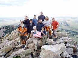Philmont Scout Ranch Map On Top Of The Tooth Of Time At Philmont Scout Ranch New Mexico