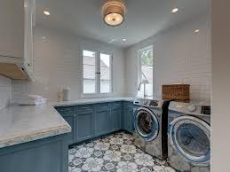 White Cabinets For Laundry Room White And Blue Laundry Room Cabinets Transitional Laundry Room