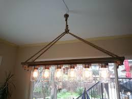 lovely diy aqua chandelier
