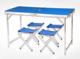 preferred nation folding table outdoor folding bistro table shine nach picnic time uae souq com