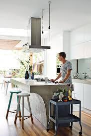 Concrete Kitchen Design Go Beyond The Common Aesthetics With Concrete Kitchen Islands