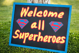 Superman Birthday Party Decoration Ideas Superman Theme Party More Than A Partymore Than A Party