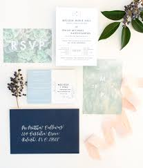 playful mountain inspired wedding invitations