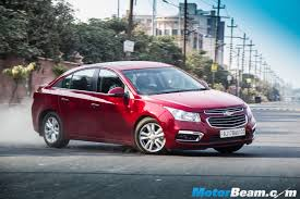2016 chevrolet cruze launched in india priced from rs 14 68