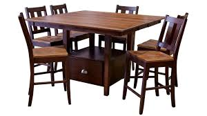pub dining room sets myrtle springs pub dining table u0026 chairs