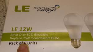 le better lighting experience safety saving electricity saving money with these le better