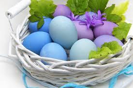 easter egg basket easter egg basket free photo on pixabay