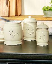 corelle ceramic kitchen canisters u0026 jars ebay