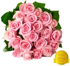 fresh flower delivery flower delivery 25 light pink premium fresh roses