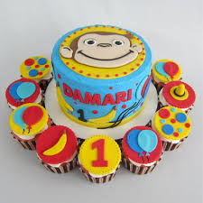 curious george cupcakes photo gallery clever wren cakes dubuque iowa