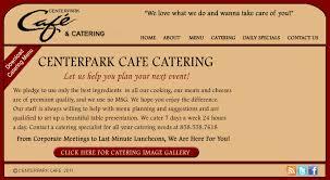 centerpark cafe