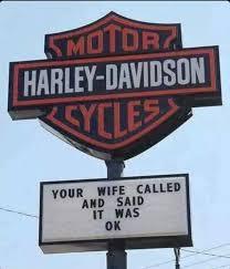 Harley Davidson Meme - bring your permission slip meme by bucketman memedroid