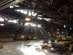Broadway Barns In Buffalo Hockey History Survives Barely In What Was The