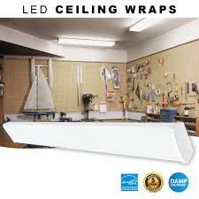 4 foot led wrap around ceiling light fixture