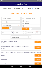 job safety analysis android apps on google play