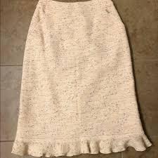 tweed skirt 88 chanel dresses skirts 3465 99a runway chanel tweed