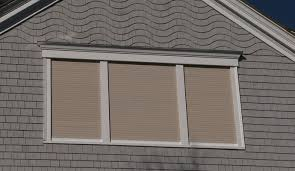 Retractable Window Blinds Rolling Shutters Shade And Shutter Systems Inc