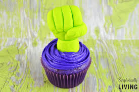 homemade hulk cupcakes simplistically living