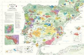 Map Of Italy And France by Wine Map Of Spain And Portugal Wine Cuentista