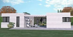 plan maison contemporaine plain pied 3 chambres construction 86 fr plan maison t4 plain pied de 144m 3