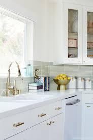 Brass Kitchen Cabinet Hardware Best 25 Midcentury Kitchen Faucets Ideas On Pinterest
