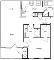 Traditional Floor Plan Ultris Island Park Apartments 1105 Island Park Blvd Shreveport
