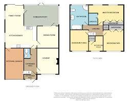 Conservatory Floor Plans 4 Bedroom Detached House For Sale In Gwaun Coed Bridgend Cf31 2hs