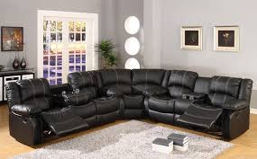 Leather Like Sofa Mc Ferran Sf3591 3pc 3 Pc Townsend Collection Black Leather Like