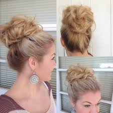 big bun hair big bouffant hair bun