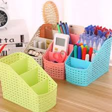Plastic Desk Organizer Multi Purpose Desk Organizer Pp Plastic Desktop Storage Box
