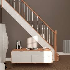 metal landing banister and railing chrome landing spindles stairs ebay arnita pinterest