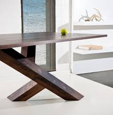 modern wood dining room tables brucall com
