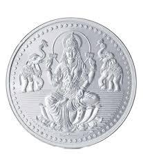 buy 13 gms 925 silver laxmi coin khannajewels