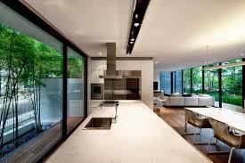 narrow house designs wall house living space 2 interior design ideas