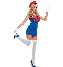 costumes for women costume women mario costume plumber costume party