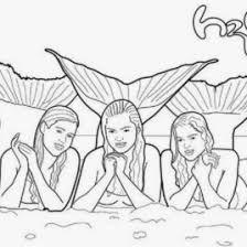 Coloring Pages Of Mermaids From H2o Mermaid Coloring Pages H2o H2o Coloring Pages