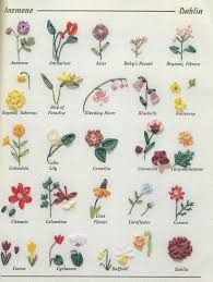flower encyclopedia an encyclopedia of ribbon embroidery flowers 121 designs