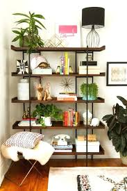 Small Bookcase On Wheels Bookcase Open Bookcase Shelf Open Wood And Metal Bookcase On