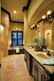 master bathroom designs tuscan style with double sinks and drop in