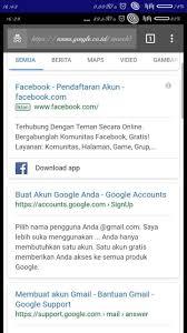 buat akun google facebook busy