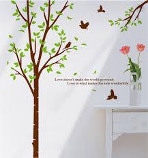 jg meaning of tree birds wall sticker w6014 jadegourd